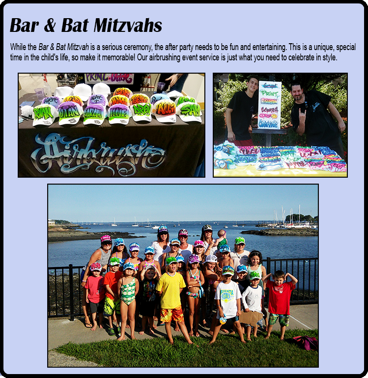 Bar & Bat Mitzvahs Airbrushing New York