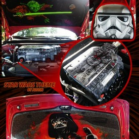 Hoodliners & Accessories Airbrushing