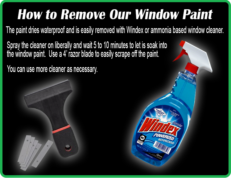 How To Remove Window Paint